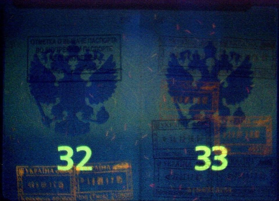 """На КПП """"Тиса"""" з мікроавтобуса зняли росіянина з підробленим паспортом: фото, фото-2"""