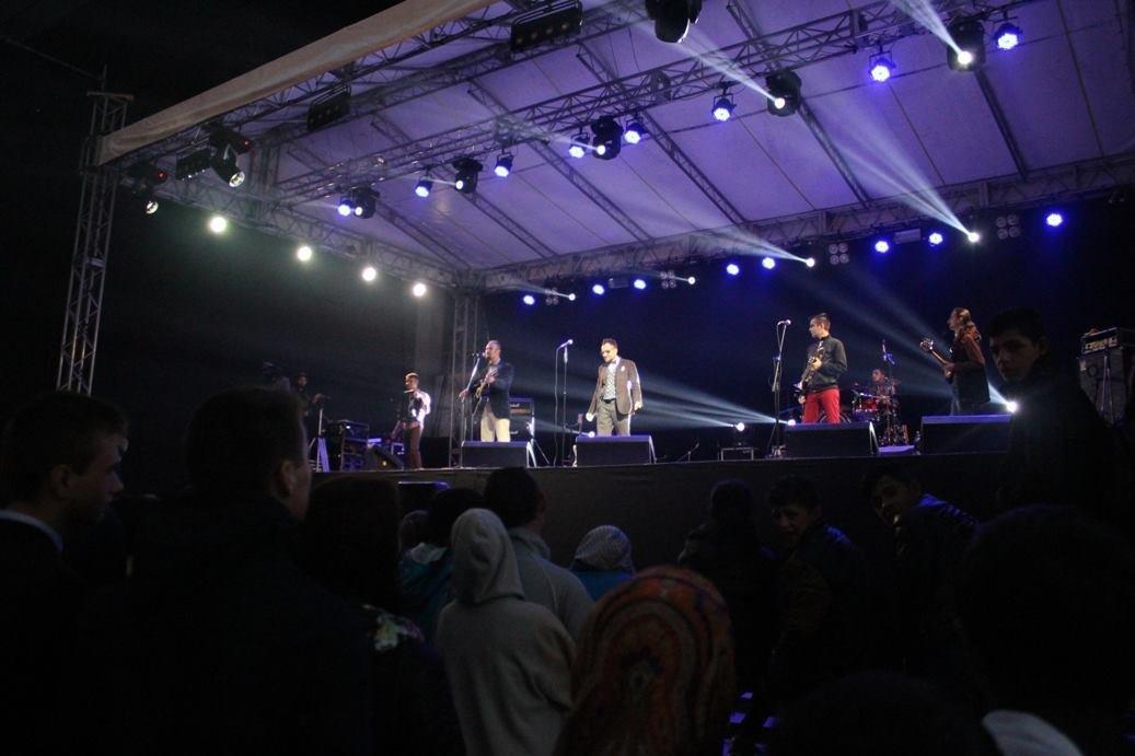 """Як """"СКАЙ"""" """"запалював"""" ужгородців на головному концерті до Дня міста: фоторепортаж , фото-2"""