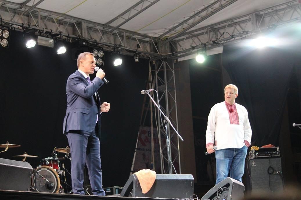 """Як """"СКАЙ"""" """"запалював"""" ужгородців на головному концерті до Дня міста: фоторепортаж , фото-4"""