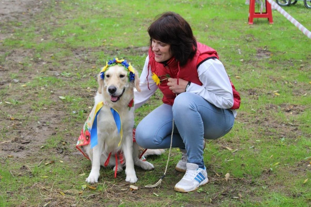 В Ужгороді у Боздоському парку пройшла масштабна виставка собак: фото, фото-3