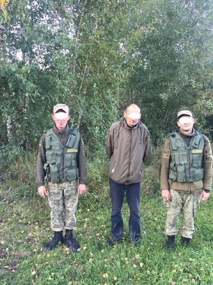 На Закарпатті затримали 37-річного злочинця із Білорусії, який тікав до ЄС: фото, фото-1