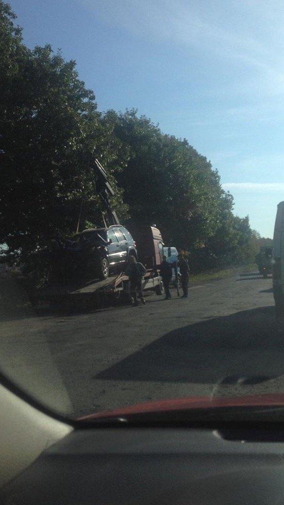 """На Тячівщині - серйозна ДТП за участі мікроавтобуса та двох """"легковиків: фото, відео, фото-1"""