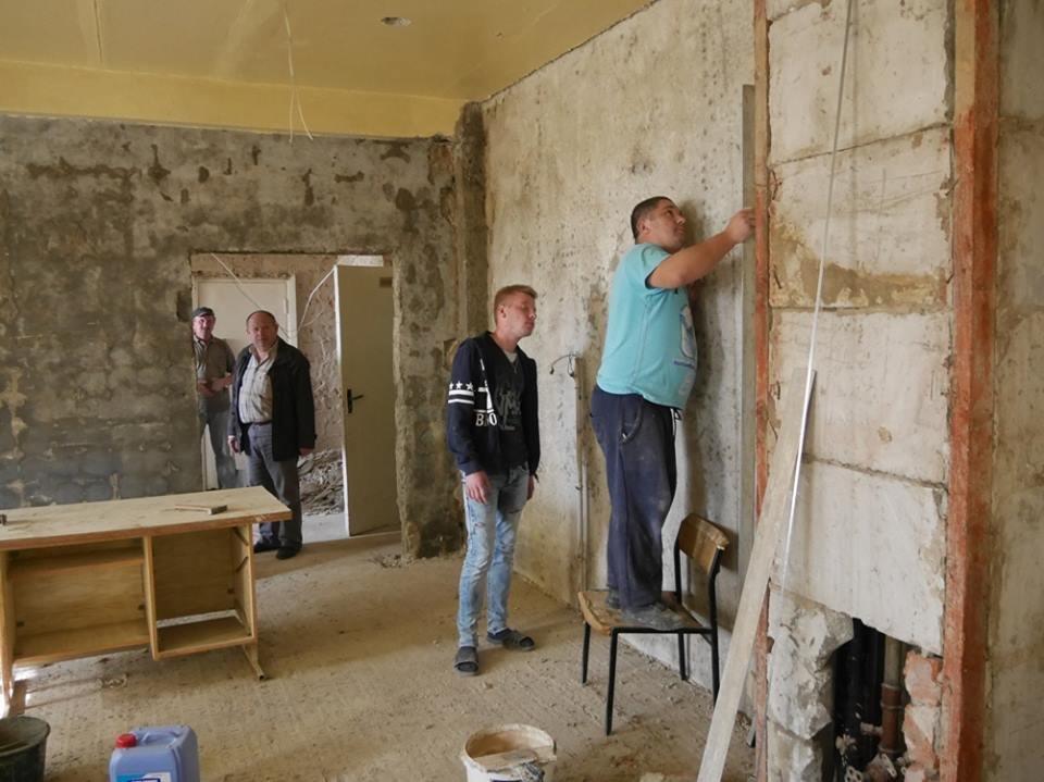 В ужгородській лікарні на БАМі  розпочався капремонт: фото, фото-5