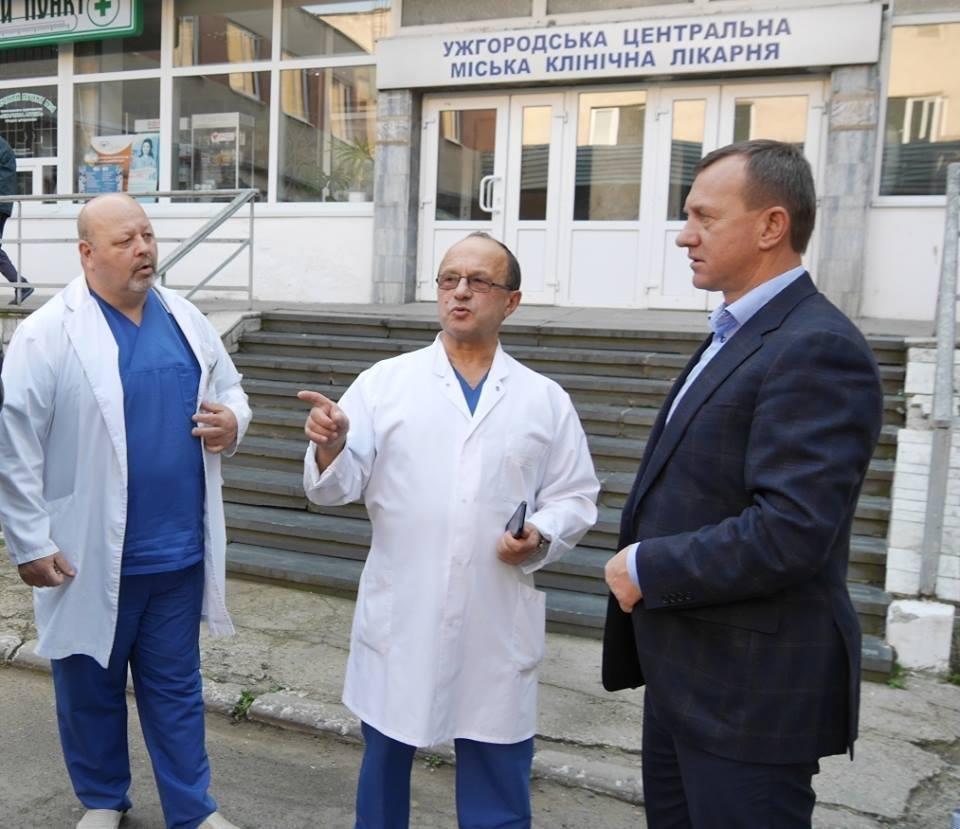 В ужгородській лікарні на БАМі  розпочався капремонт: фото, фото-6