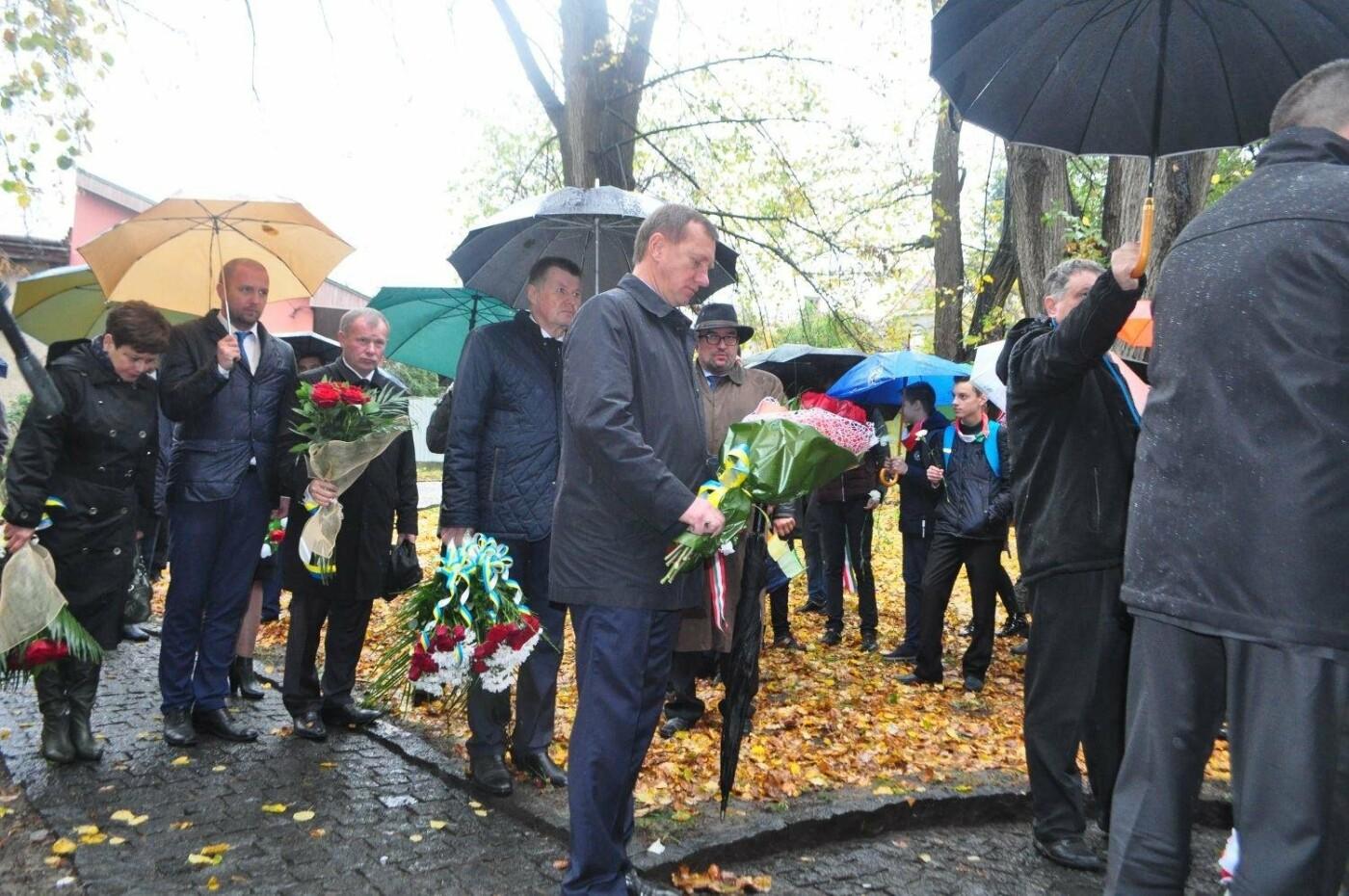 В Ужгороді вшанували 61-у річницю Угорської революції: фото, фото-1