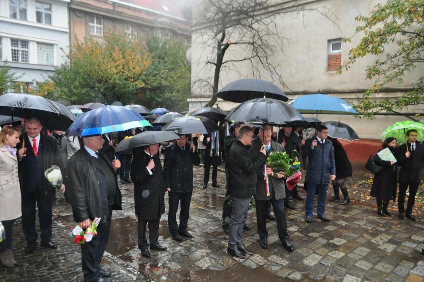 В Ужгороді вшанували 61-у річницю Угорської революції: фото, фото-3