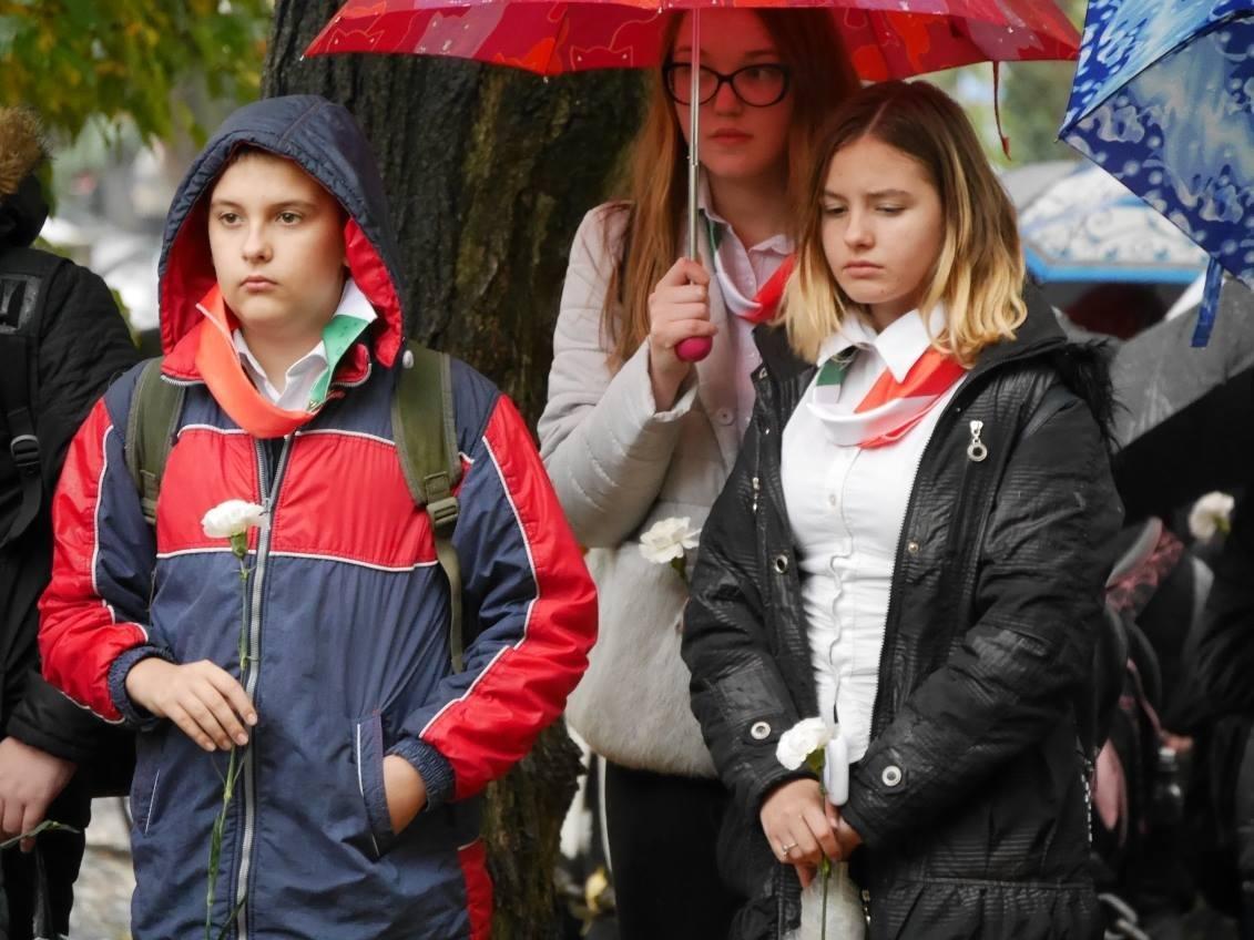 В Ужгороді вшанували 61-у річницю Угорської революції: фото, фото-4