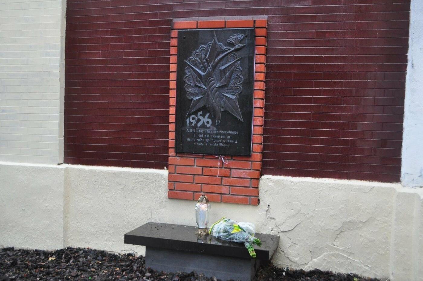 В Ужгороді вшанували 61-у річницю Угорської революції: фото, фото-5