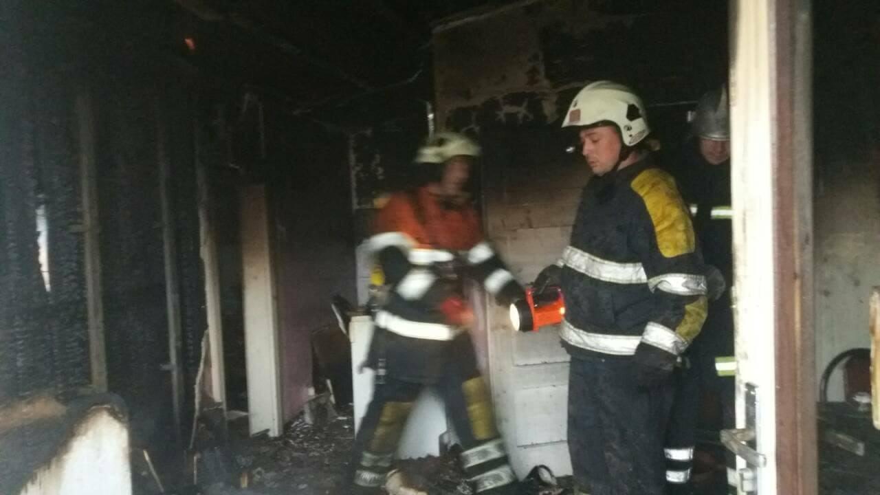 У Хусті пожежа знищила майно 73-річного пенсіонера: фото, фото-2