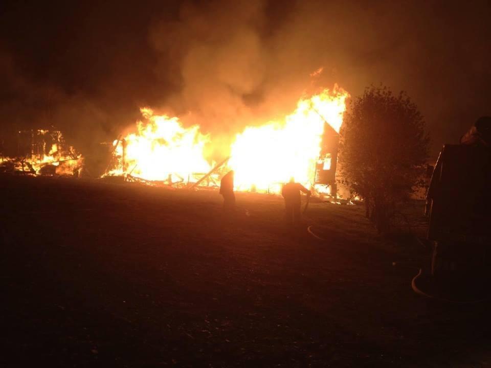 Масштабна пожежа на базі відпочинку на Тячівщині: 2 години ліквідації та 4 зруйнованих котеджі (ФОТО), фото-4