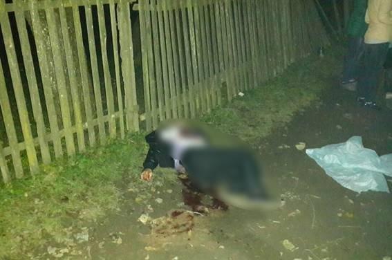 На Закарпатті чоловік посеред вулиці зарізав свою дружину і хотів скоїти самогубство (ФОТО), фото-3