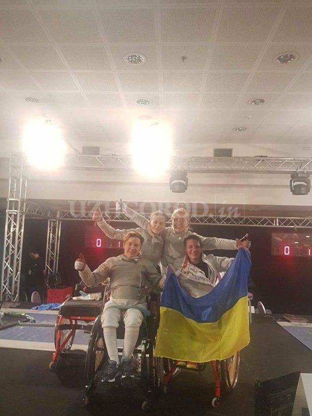 Ужгородська фехтувальниця-візочниця Надія Дьолог у складі збірної України стала чемпіонкою світу (ФОТО), фото-2