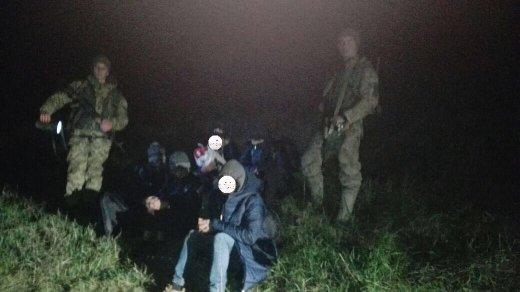 5 в'єтнамців та чех: на Закарпатті поблизу кордону з Угорщиною затримали нелегалів та їхнього провідника (ФОТО), фото-3