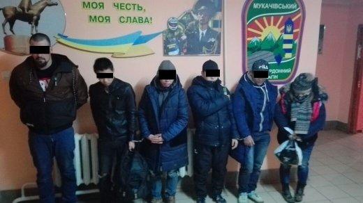 5 в'єтнамців та чех: на Закарпатті поблизу кордону з Угорщиною затримали нелегалів та їхнього провідника (ФОТО), фото-5