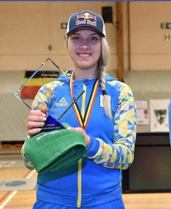 Українська шаблістка Ольга Харлан виграла Кубок світу: фото, фото-1