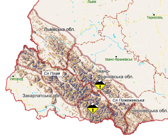 Рятувальники попереджають про небезпеку лавин у Карпатах та підвищення рівнів води у річках Закарпаття: фото, фото-3