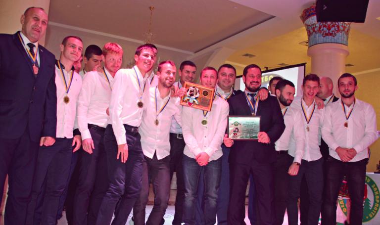 У Мукачеві відбулося урочисте нагородження призерів Вищої ліги чемпіонату області: фото, фото-1