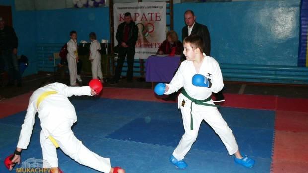 У Мукачеві відбувся  чемпіонат Закарпаття з Шотокан карате: фото, фото-1
