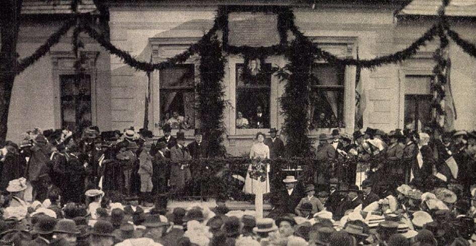 3 тисячі свідків: як на Радванці у 1908-му році встановлювали меморіальну дошку на найстаріший будинок краю (ФОТО), фото-1