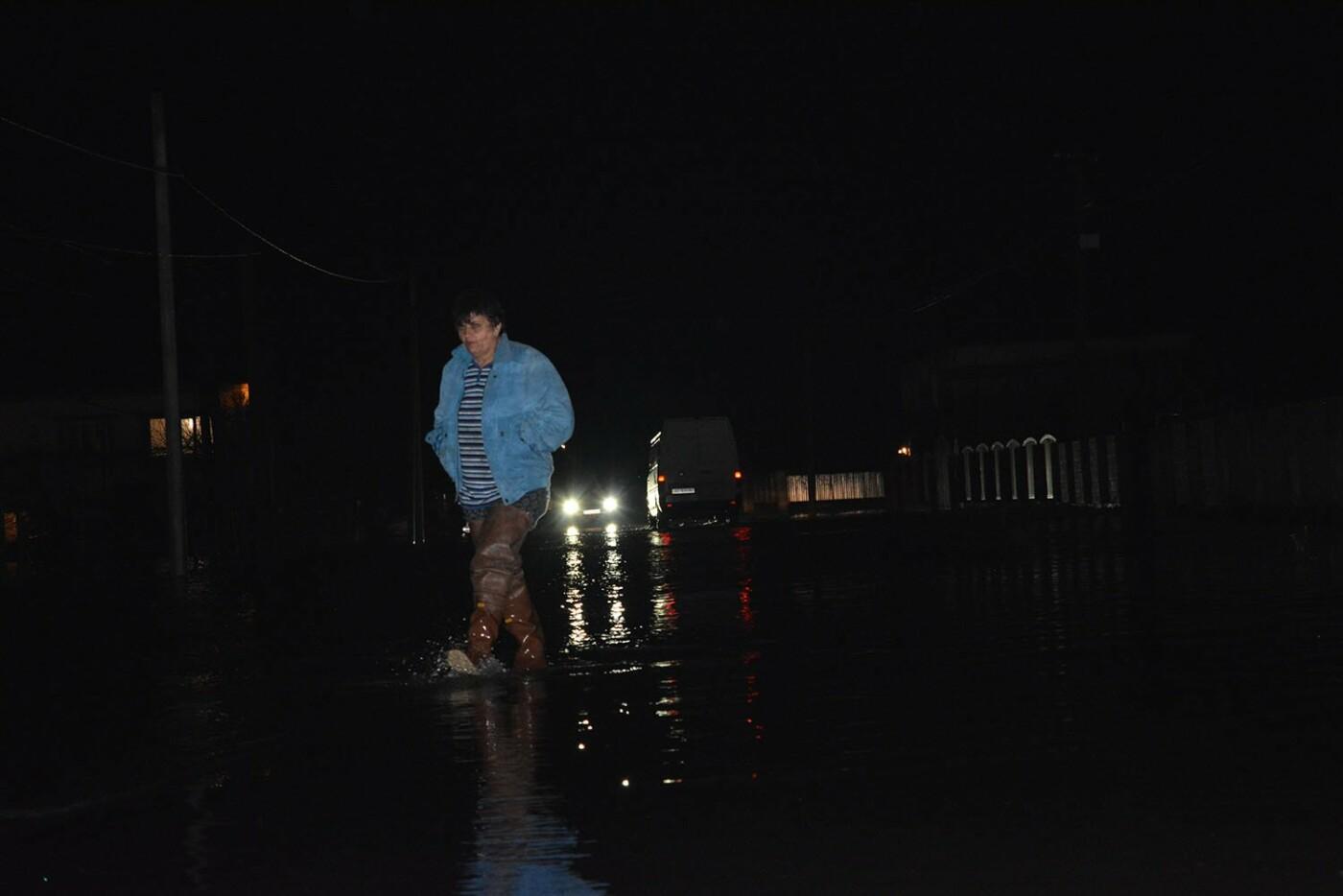 Ситуація стабілізувалася: на Закарпатті човнами евакуювали людей, постраждалих від паводку (ФОТО, ВІДЕО), фото-5