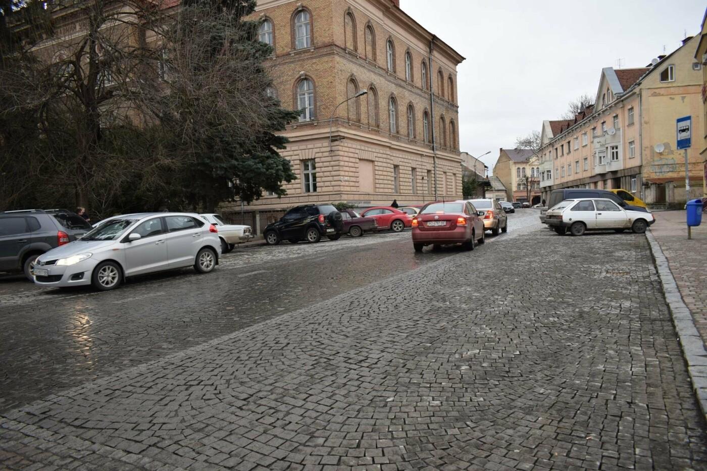 В Ужгороді після капремонту за 1,5 мільйонів гривень відкрили вулицю Панаса Мирного: фото, фото-5