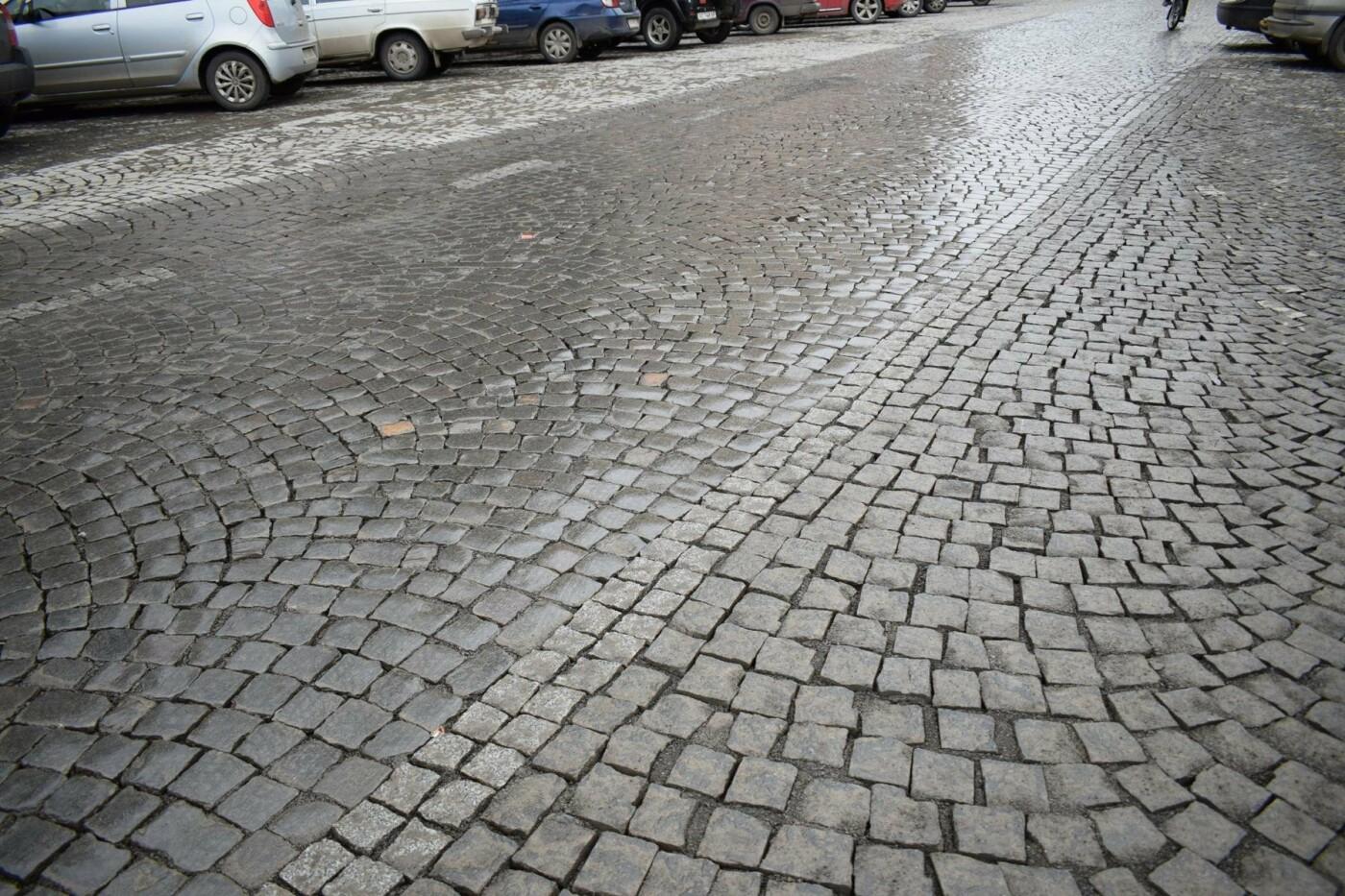 В Ужгороді після капремонту за 1,5 мільйонів гривень відкрили вулицю Панаса Мирного: фото, фото-1