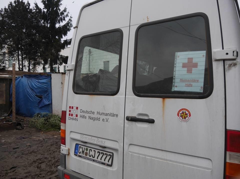 В Ужгороді німецькі благодійники роздавали подарунки малозабезпеченим родинам та ромським дітям: фото, фото-10