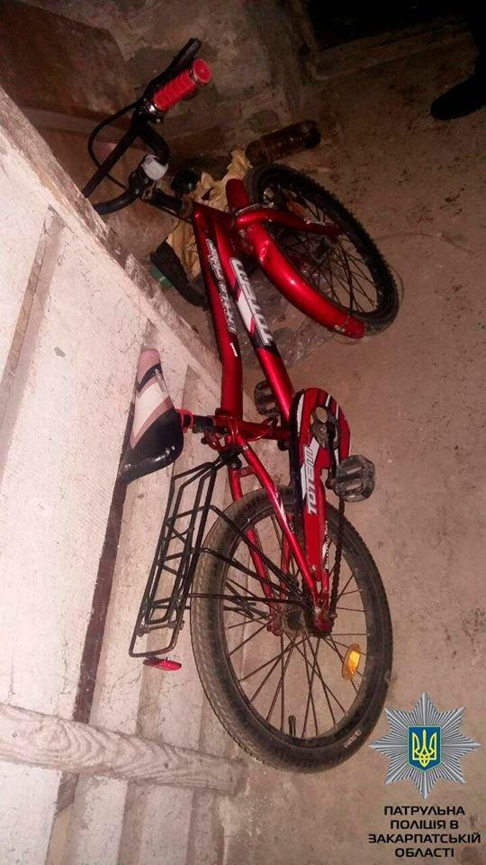 Вранці в Ужгороді чоловік вдерся до підвалу чужого будинку, щоб вкрасти дитячий велосипед: фото, фото-1