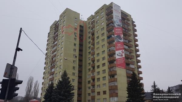 В Ужгороді вогонь у 16-поверхівці гасили 25 пожежників на 5-ти машинах (ОНОВЛЕНО, ФОТО, ВІДЕО), фото-6