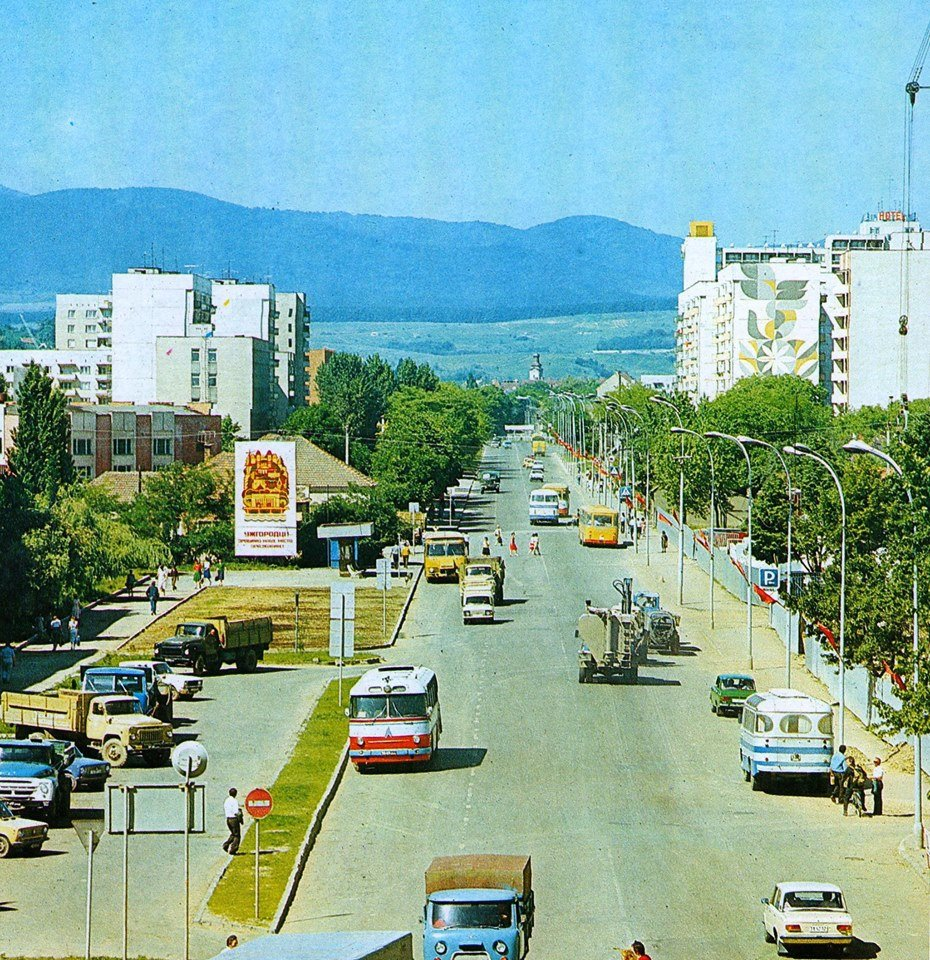 Як виглядала вулиця Минайська в Ужгороді у 1981-у році: фото, фото-1