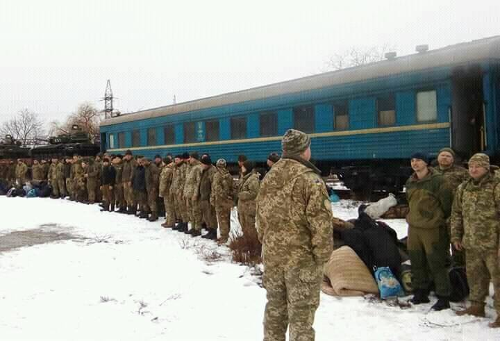 Як біля Ужгорода зустрічали бійців 128-ї бригади: фото, фото-1