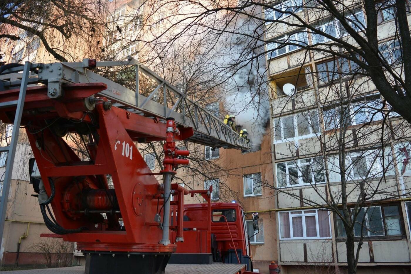 Через пожежу у багатоповерхівці на Годинки в Ужгороді евакуювали 20 чоловік, згоріли 2 кімнати (ФОТО, ВІДЕО, УСІ ПОДРОБИЦІ), фото-12