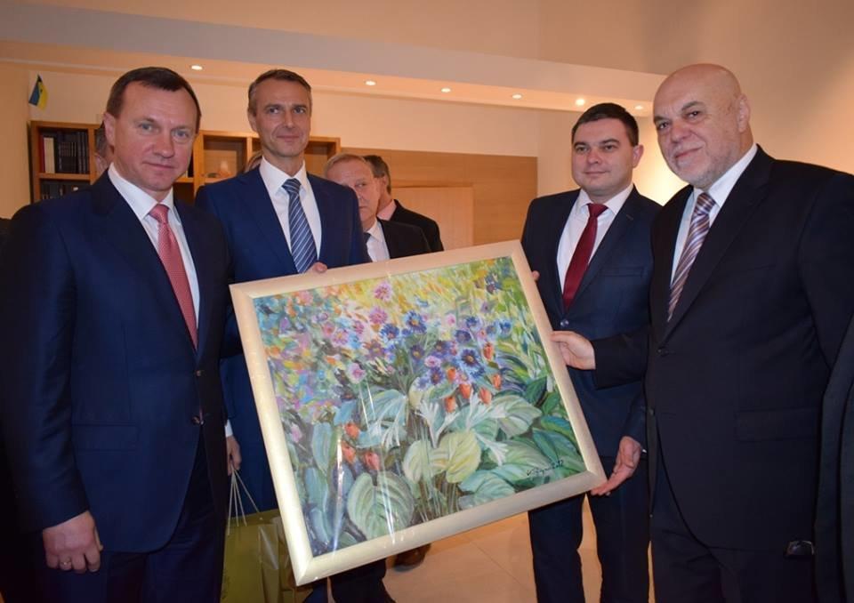 В Ужгород приїхав Президент Словацької Республіки 2004-2014 років Іван Гашпарович (ФОТО), фото-6