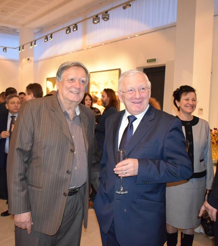 В Ужгород приїхав Президент Словацької Республіки 2004-2014 років Іван Гашпарович (ФОТО), фото-7