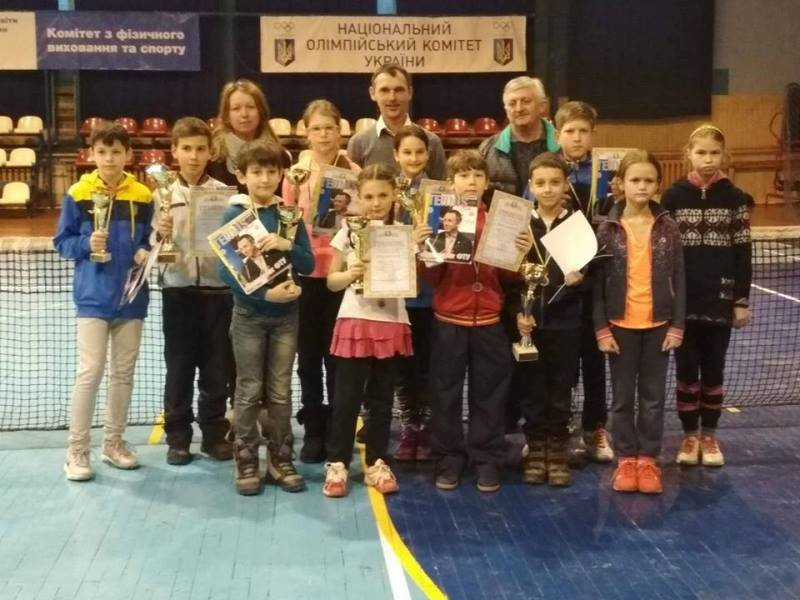 В Ужгороді змагалися юні тенісисти з різних куточків України: фото, фото-1