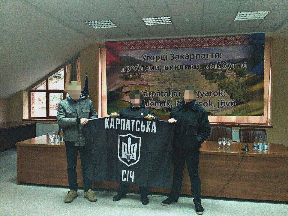 В Ужгороді націоналісти зірвали зібрання проросійських активістів: фото, відео, фото-3