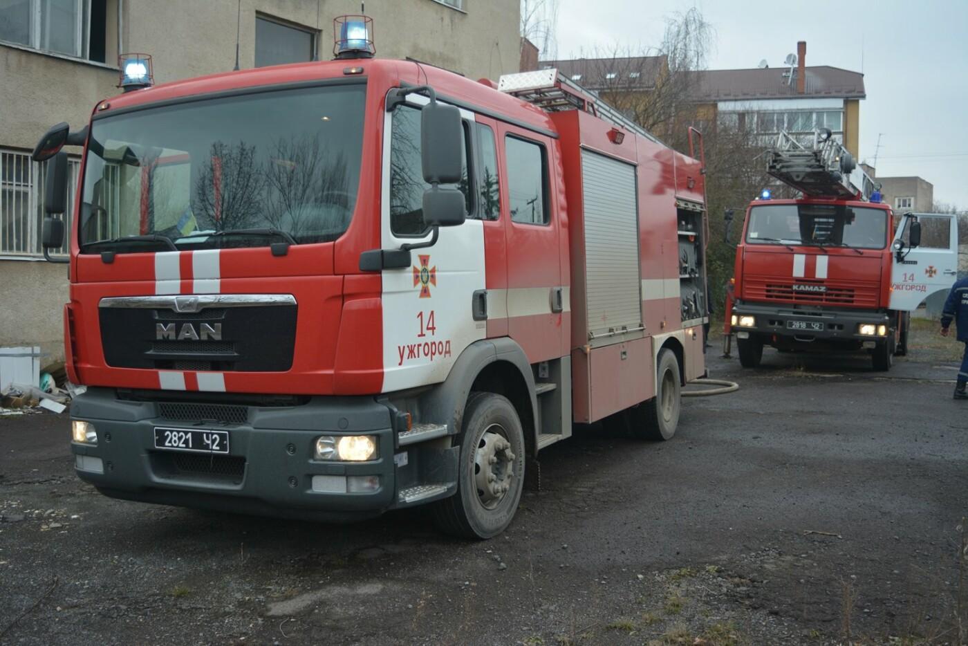 В Ужгороді - пожежа в готелі на Собранецькій: 42-х людей евакуйовано, ще одного врятували від смерті (ФОТО, ВІДЕО), фото-1