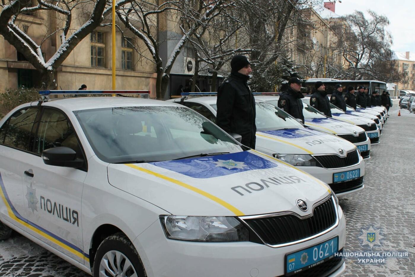 Автопарк поліції Закарпаття поповнився новими авто: чи прискориться реакція на звернення громадян (ФОТО, ВІДЕО), фото-1