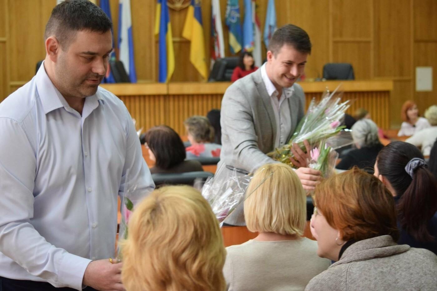 Андріїв з відпустки зателефонував в ужгородську мерію, щоб привітати жінок, які залишилися на роботі (ФОТО), фото-12
