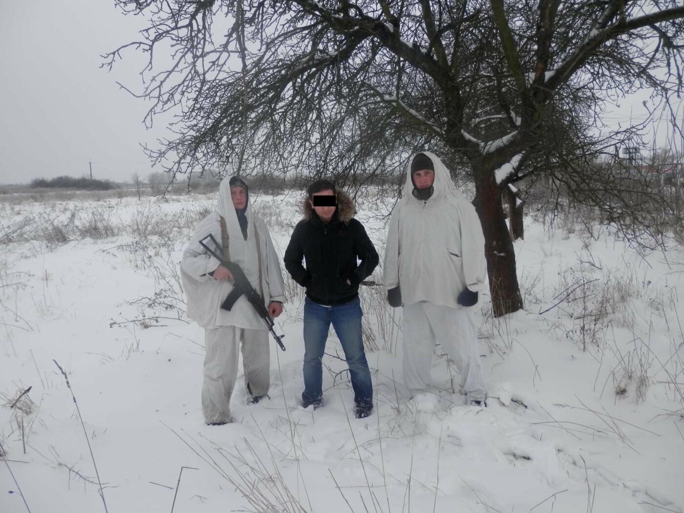 На Закарпатті за 10 метрів від кордону затримали закоханого нелегала, який долав кучугури снігу до дівчини з Рівного (ФОТО), фото-1