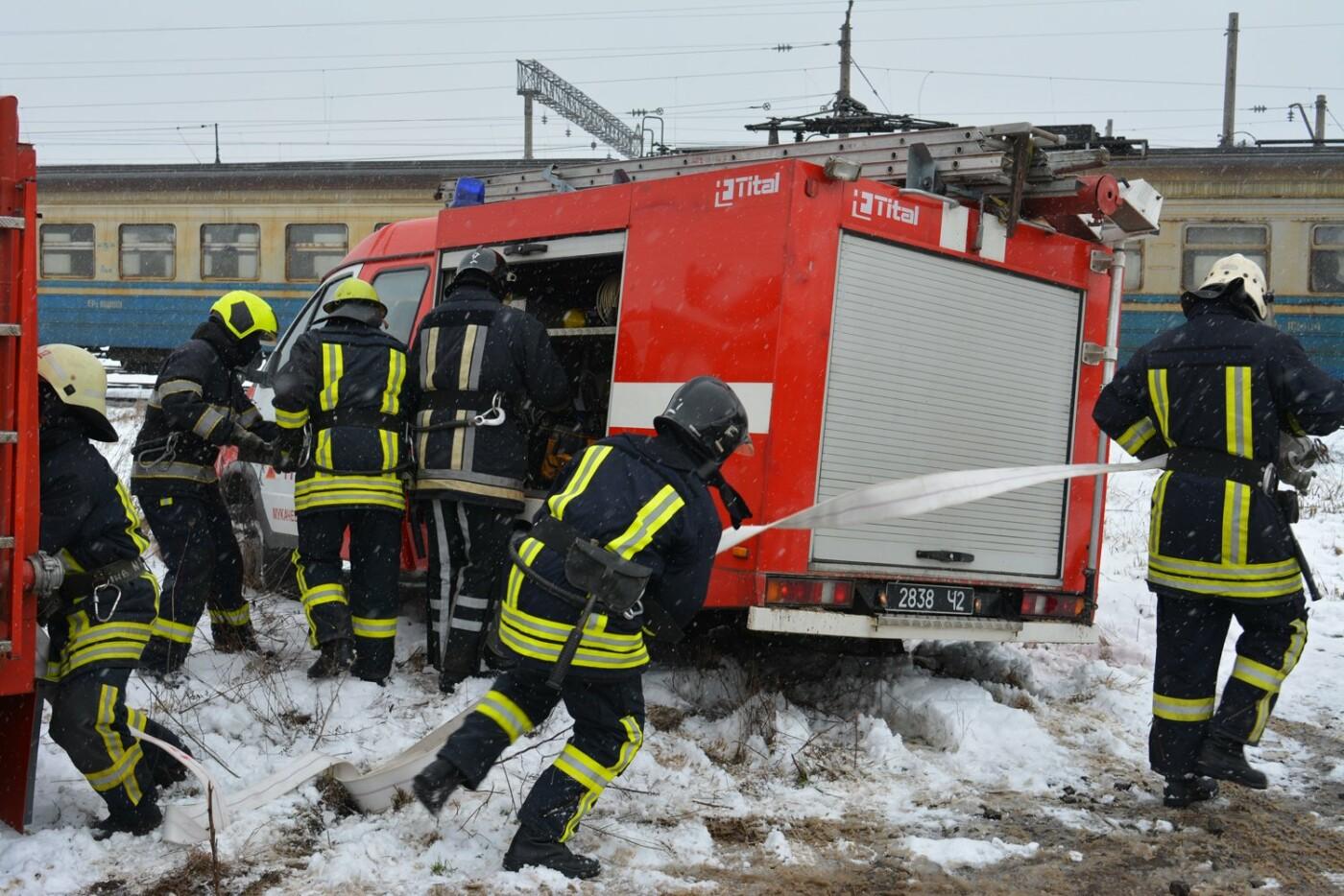 Потяг зійшов з рейок - 2 людини загинуло, 70 травмовано: на Закарпатті розпочалися командно-штабні навчання (ФОТОРЕПОРТАЖ), фото-5