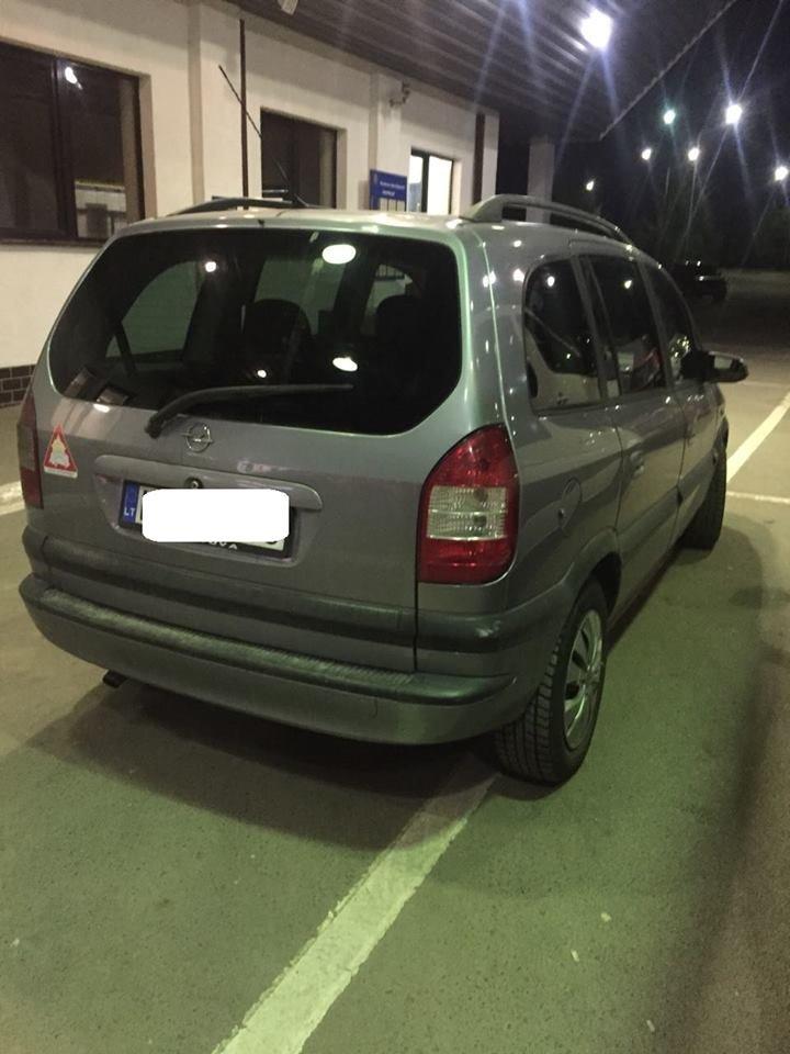 Підроблені документи: на кордоні Закарпаття в українця забрали мінівен «Opel Zafira» (ФОТО), фото-1