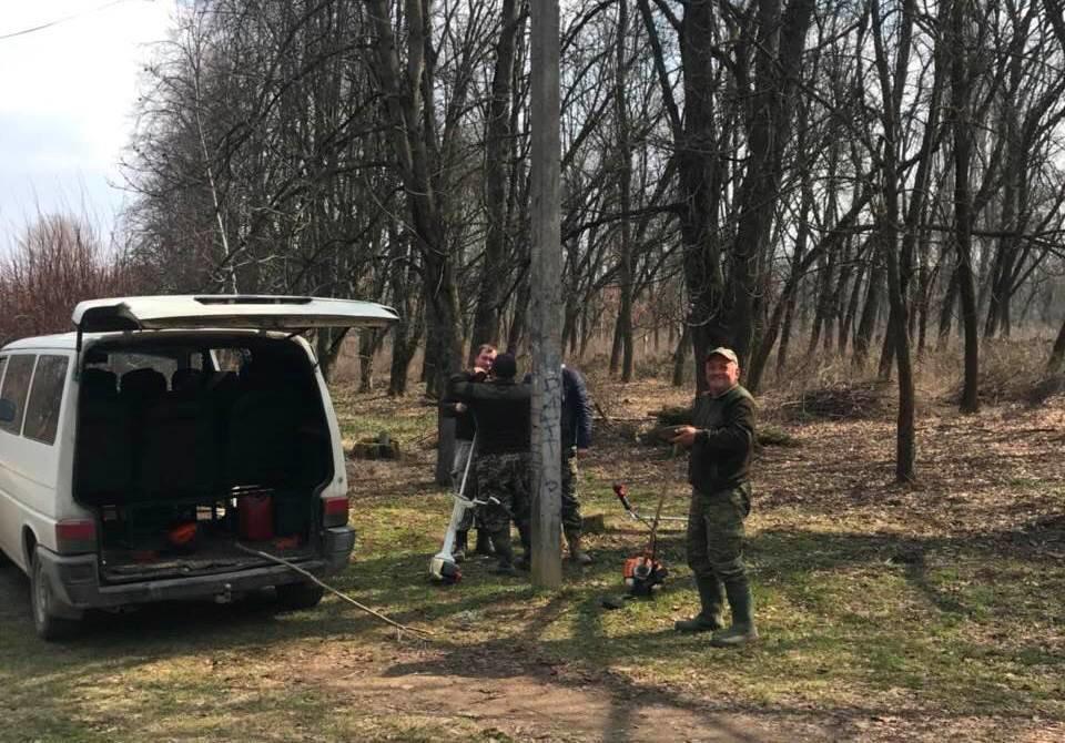 В Ужгороді розчищають Боздоський парк (ФОТО), фото-1