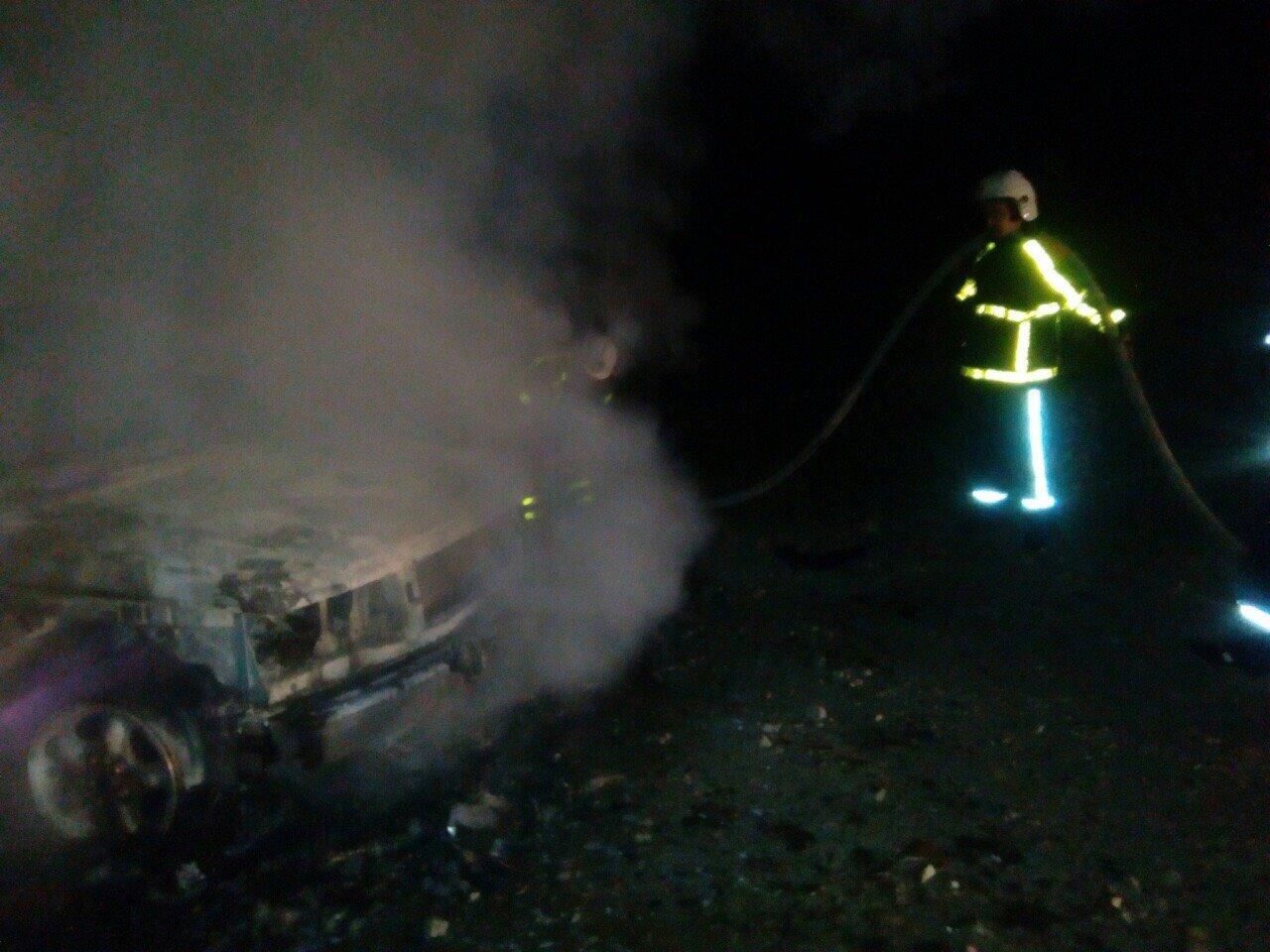 "Біля Хуста пожежа знищила Range Rover на ""євробляхах"" (ФОТО), фото-2"