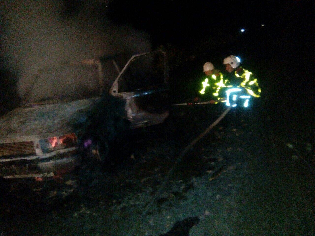 "Біля Хуста пожежа знищила Range Rover на ""євробляхах"" (ФОТО), фото-1"