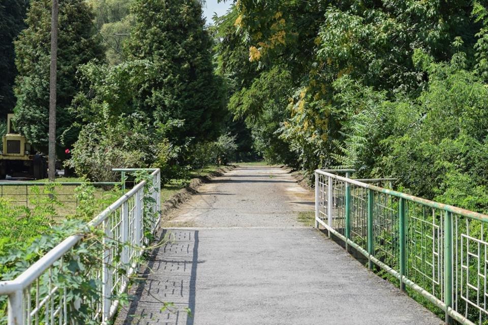Рівні доріжки, оновлений понтонний міст: у Боздоському парку Ужгорода розпочались ремонтні роботи (ФОТО), фото-1