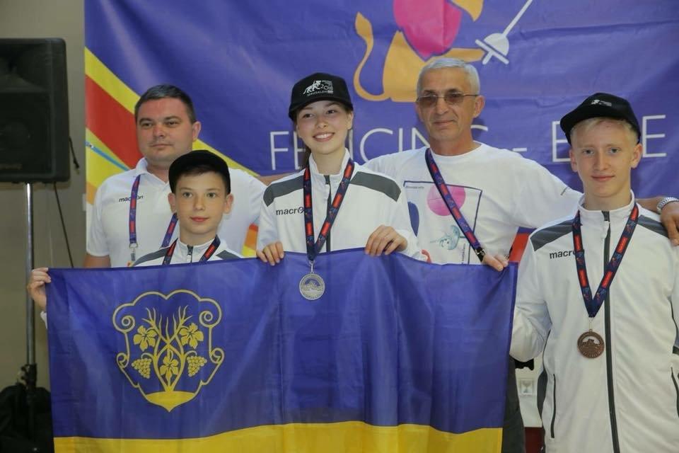 Ужгородська команда юних спортсменів привезла 4 медалі з Міжнародних дитячих ігор (ФОТО), фото-4