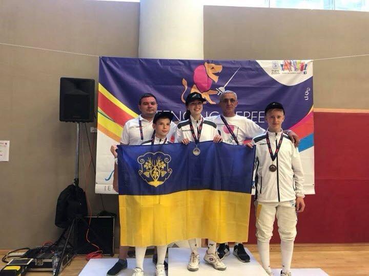 Ужгородська команда юних спортсменів привезла 4 медалі з Міжнародних дитячих ігор (ФОТО), фото-6