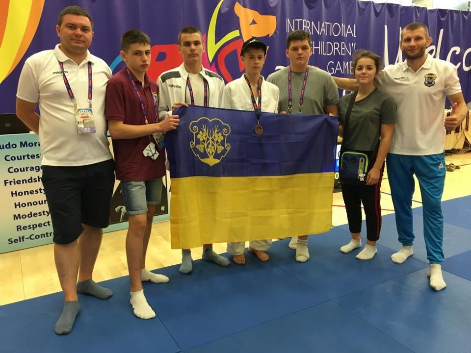 Ужгородська команда юних спортсменів привезла 4 медалі з Міжнародних дитячих ігор (ФОТО), фото-8
