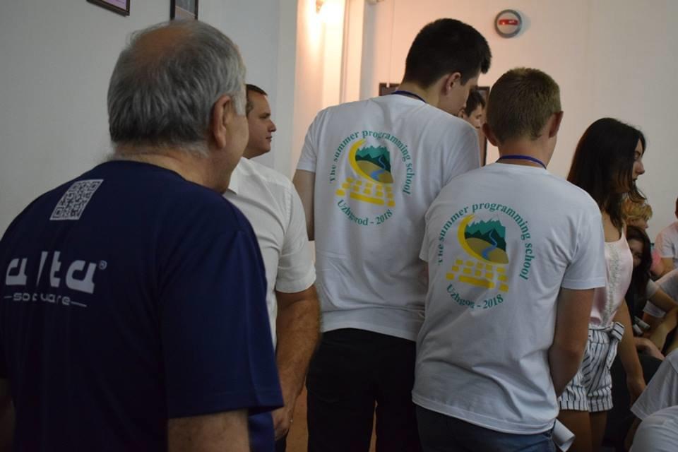 Молоді програмісти з вишів України та Грузії: в Ужгороді стартувала Літня школа з програмування (ФОТО), фото-13
